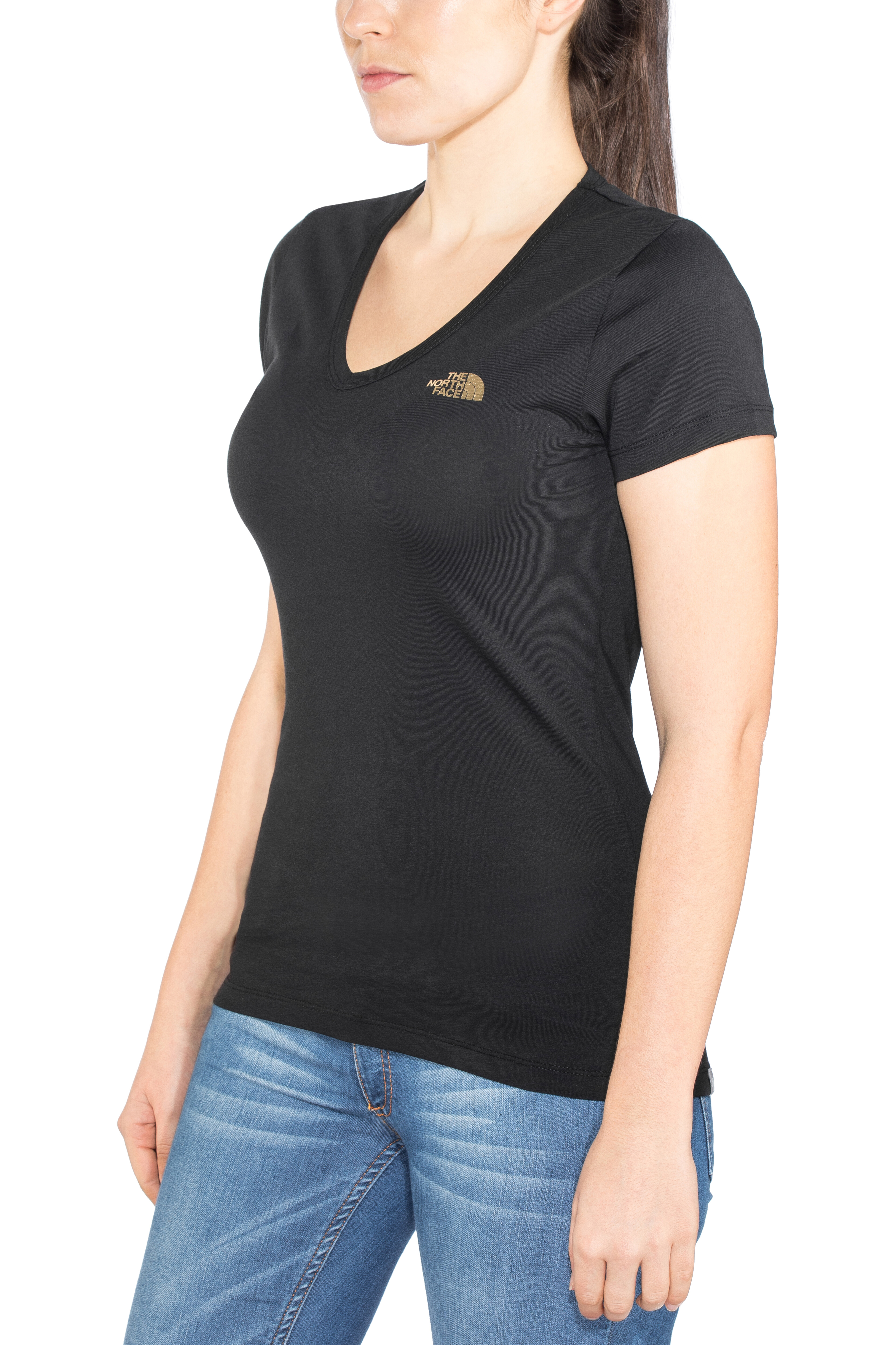 6c435b1c The North Face Simple Dome Shortsleeve Shirt Women black at ...